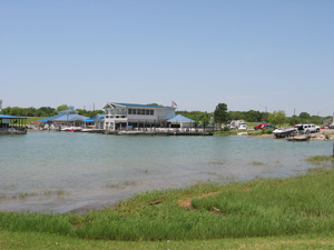 a view of the lynn creek marina